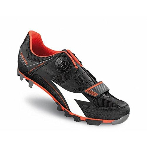 Zapatillas Diadora X Vortex Racer 2 Negro-Rojo 2016
