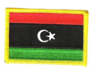 Flaggen Aufnäher Patch Libyen Fahne Flagge