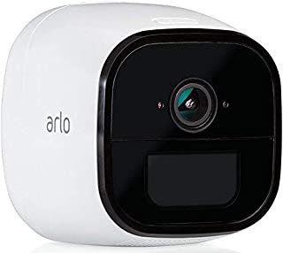 Arlo Go Überwachungskamera, kabellos, mobil, Innen / Aussen, HD, 3G/4G LTE, wetterfest, Nachtsicht, 2 Wege Audio, Bewegungsmelder, wiederaufladbarer Akku, kostenloser Cloud Speicher, weiß, VML4030