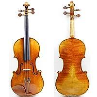 バイオリンセット 良い音質を持つ4/4手作りのプロのバイオリン