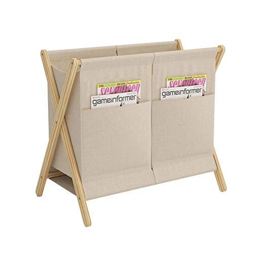AMYHY Cesta de lavandería portátil de madera maciza, cesta de lavandería delgada con bolsa de almacenamiento, cubos de almacenamiento de esquina plegables, adecuado para cuarto de baño o dormitorio