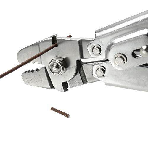 U/D Pimbuster Draht Cope Crimpzange Drahtseilhalter Angelschnüre Zangen Quetschen for 0.1MM-2.2MM Größe Stahldraht Seil und Zwinge Sleeves