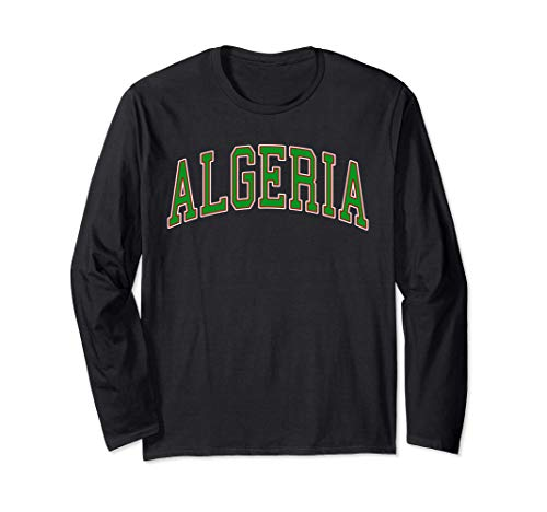 Algeria Sport And Sightseeing Maglia a Manica
