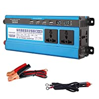 Professional 500W-4000W Power Inverter 48V/60V DC to 220V AC Home Fan Cooling Car Converter Compatible with Household Appliances Emergency Power Supply