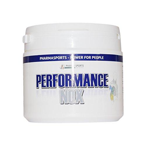 Performance NOX Kombi Stickstoffmonoxid - NO2 - Arginin, Citrullin, Beta Alanin, Kreatin auch als Pre-Workout Booster ohne Koffein, Trennmittel, Farbstoffe usw Made in Germany