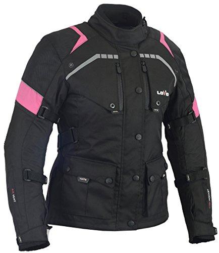 LOVO Chaqueta 3/4 para moto (Mujer) (XL)