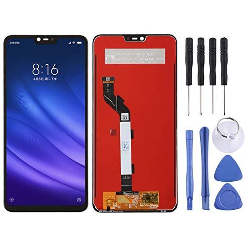 meihansiyun Accesorios de un teléfono Pantalla LCD y Montaje Completo de digitalizador para el Accesorio Xiaomi MI 8 Lite (Color : Black)