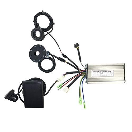 Dcolor 36V / 48V 500W 22A Elektro Fahrrad Sinus Welle Regler mit KT KT LCD8S Display & Daumen Gas und Sensor Elektro Fahrrad ZubehhR