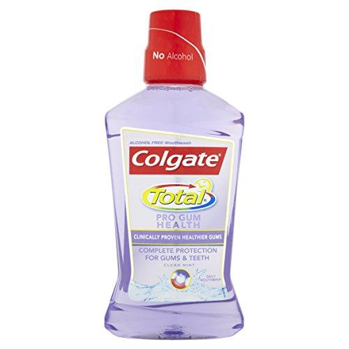 Colgate Total Pro Gum Health Clean Mint Mouthwash, 500 ml