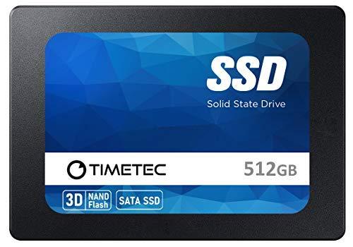 Timetec 512GB SSD 3D NAND SATA III 6Gb/s 2.5 Inch 7mm (0.28