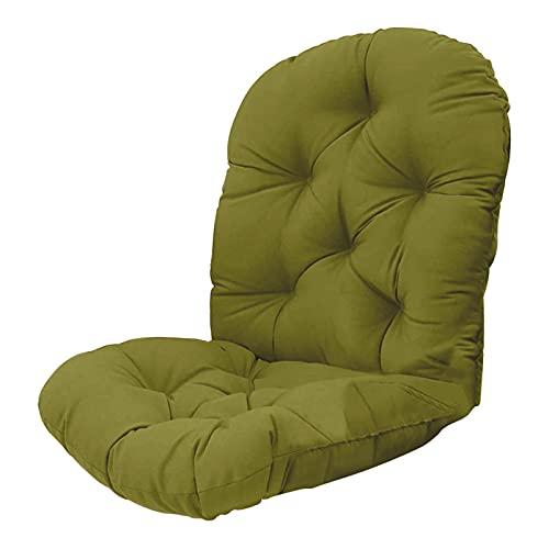 WANGQ Cojín para silla mecedora, cojín giratorio para sillas reclinables, tumbonas y sillones, alfombrilla lavable para muebles, apto para todos los tipos de sillas