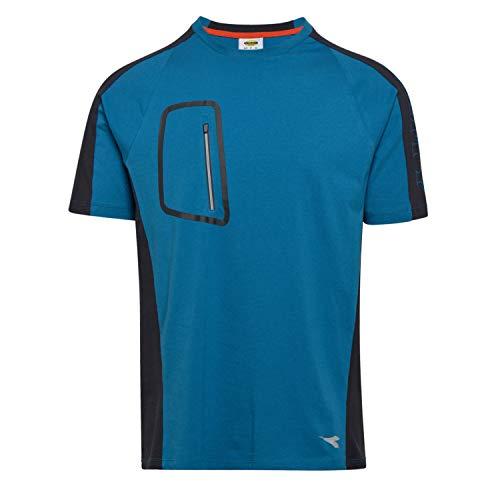 Utility Diadora - T-Shirt da Lavoro T-Shirt Cross Organic per Uomo (EU S)