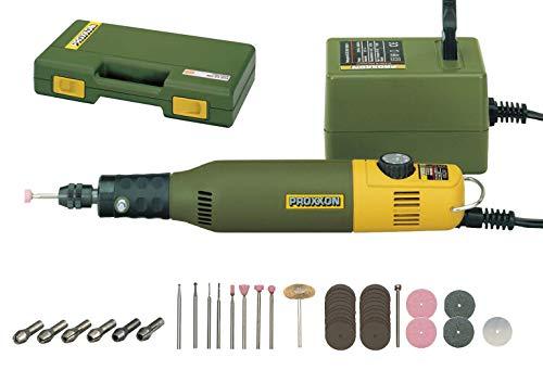 Proxxon Modellbau- und Gravierset, 34-tlg. Werkzeugkoffer, gravieren polieren