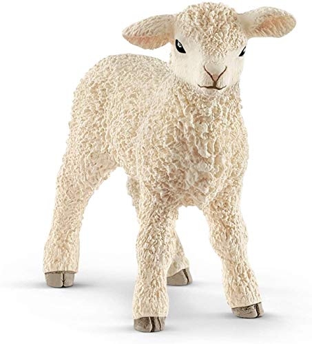 SCHLEICH Farm World  Easter Toy  Animal Figurine  Farm Toys for Boys and Girls 3-8 Years Old  Lamb