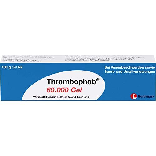 Thrombophob 60.000 Gel bei Venenbeschwerden, 100 g Gel