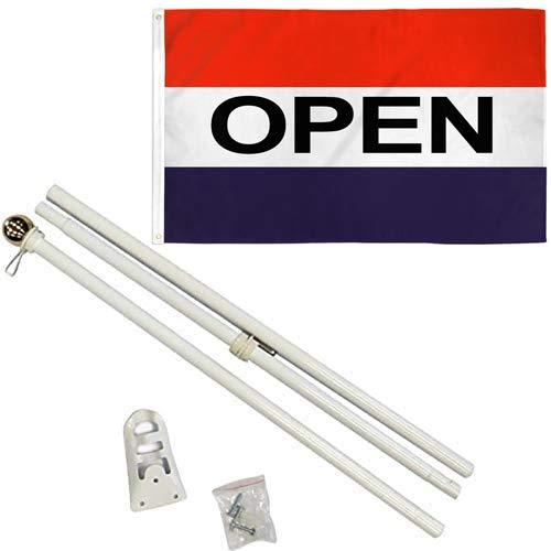 4LessCo 3x5 ft Open Flag w/ 6