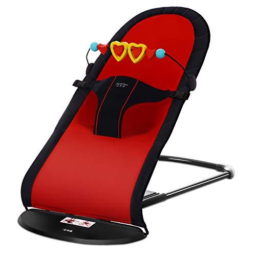 LVJUNQ Hamaca portátil portátil de diseño ergonómico, Tiene función de oscilación automática, cómoda, Transpirable y Estable, Adecuada para Dormitorio, Sala de Estar