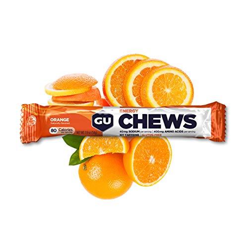 GU Energy Gominolas de Naranja - Paquete de 18 x 54 gr - Total: 972 gr