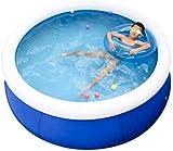Piscina hinchable Swim Centro Familiar piscina Family piscina inflable de tamaño completo inflable Salón piscina for adultos Kiddie for niños Easy Set piscina del patio trasero de verano al aire libre