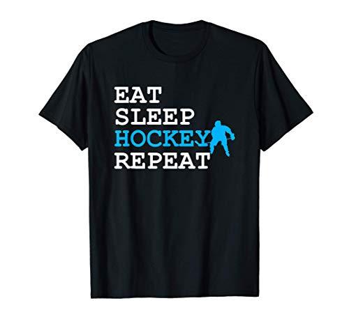 Hockey Schläger Eishalle Hockeytor Hockeyschläger Geschenk T-Shirt