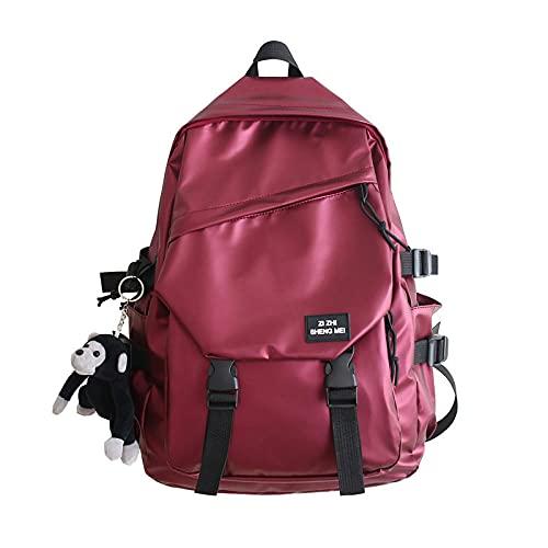 SUNXC Multifuncional Daypacks, Mochila de Viaje Simple y versátil-Red_no,Mochila de Ordenador portátil