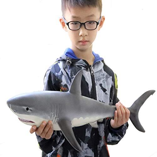 FLORMOON Figuras de Juguete de Gran tiburón Realista