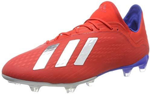 adidas Herren X 18.2 Fg Fußballschuhe, Mehrfarbig (Rojact/Plamet/Azufue 000), 47 1/3 EU