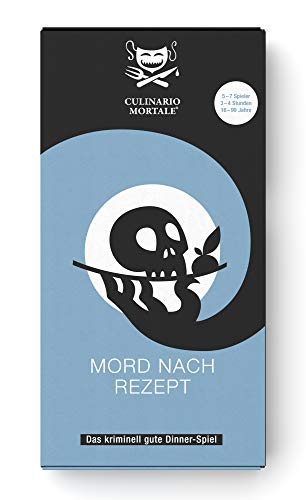 Culinario Mortale Mord nach Rezept - Das Krimi-Dinner Spiel für Zuhause - Für 5-7 Personen