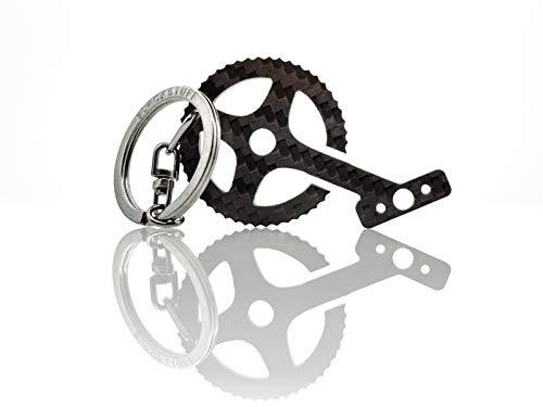 Llavero de Fibra de Carbono Pedales de Bicicleta, Bicicleta Ciclismo, Llavero Detalles