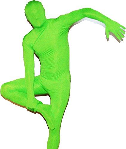 Leikese Sporting Goods Catsuit Ganzkörperkostüm in Grün Größe: XL