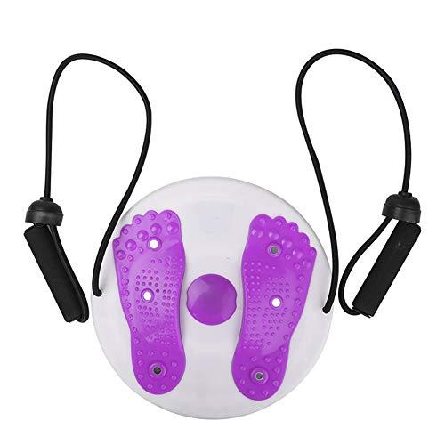 Cojin De Equilibrio Tabla Equilibrio Ronda Wobble Board Masaje Balance Junta Disco de torsión de la Cintura de Yoga Equilibrio Entrenador Purple,Freesize