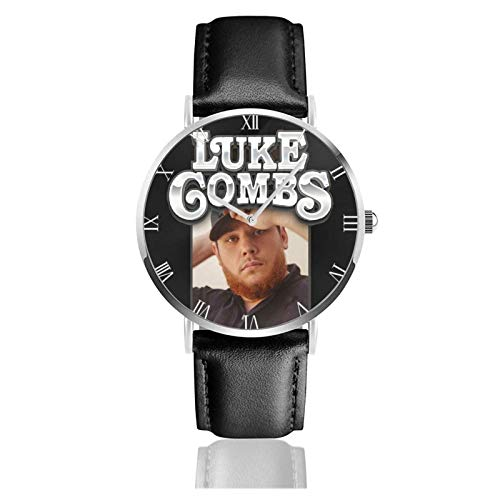 Luke Combs Teens Niños Estudiantes Relojes de Regalo Reloj de Moda Ultrafino