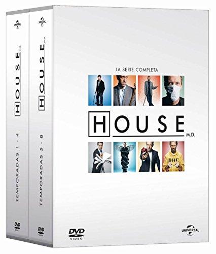House (Megapack Serie Completa) [DVD] ✅