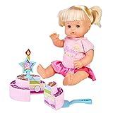 Nenuco -Feliz Cumpleaños, Muñeca bebé de cumple para regalar a los más pequeños a...