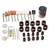 XUXUWA Industrielle Schleifmittel, 41-teiliges Rotationswerkzeug-Zubehör-Set, Polierset zum Basteln und Polieren von Hooby