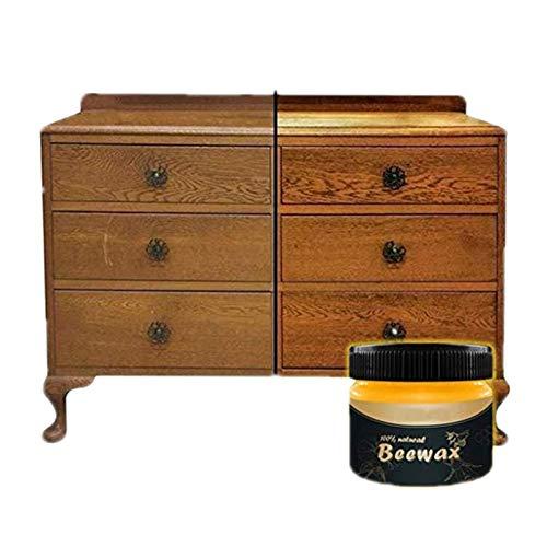 Möbelwachs Antikwachs, 100% Natürliches Bienenwachs Bio, Multifunktionale Möbelpflege Wachs für Holz Möbel Holztische Holztür Holzboden Kulptur Parkett Möbelpolitur Wachs
