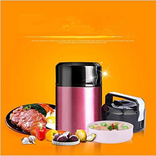 Taza, frasco de vacío de gran capacidad y frasco de vacío, frasco de vacío y frasco de vacío, frasco de vacío, aislamiento térmico para alimentos, caja de aislamiento térmico con contenedor