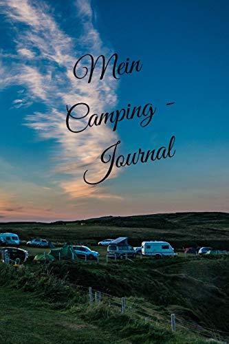 Mein Camping Journal: karriert DIN A5 Reisetagebuch Journal Notizen Logbuch fürs Zelten, Wohnwagen, Wohnmobil, Camper, Caravan, WoMo und Campingplatz