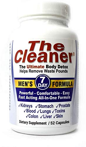The Cleaner 7Day Men's Formula Ultimate Body Detox (52 Capsules)