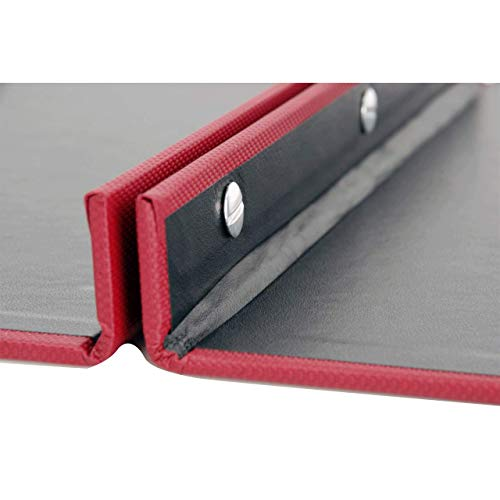 11x17 Binder Screw Post Turned Edge (Red)