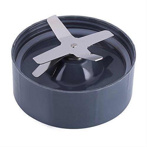 Repuesto de cuchilla de acero inoxidable para base de exprimidor. Los accesorios de la pieza se adaptan a la licuadora NutriBullet 600/900W 600 W.