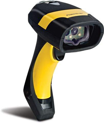 Datalogic PowerScan PM8300, SR, Multi-IF, schwarz, gelb, Funkscanner, Industrie, Laser, Standard Range, Multi Interface (RS232, KBW, USB), Reichweite: 46m, PM8300-433