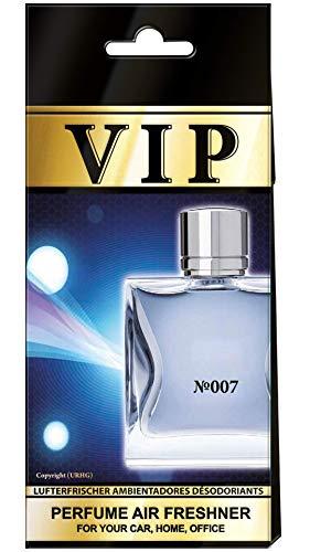 /Paco Rabanne 1 Million caribi VIP Lufterfrischer f/ür Auto 007/ Duft-Nr 5 St/ück Zuhause oder B/üro