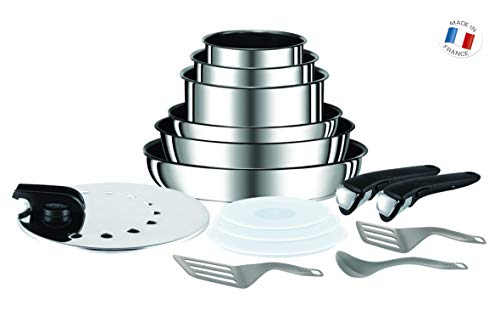 Tefal L9409602 Ingenio Performance Inox Batterie de...