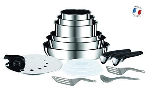 Tefal L9409602 Ingenio Performance Inox Batterie de Cuisine 15 pièces - Tous feux dont induction