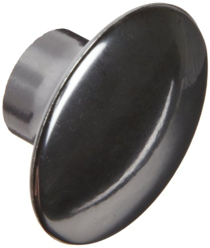 Davies A10-3006-J Thermoset Push/Pull Knob, Smooth Rim, Threaded Hole, 1/4