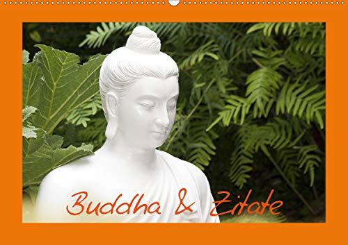 Buddha & Zitate (Wandkalender 2021 DIN A2 quer)