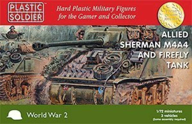 Plastic Solider 1 72 tuttiied Sheruomo M4A4 e Firefly Tank   WW2V20015 by Plastic Soldier azienda