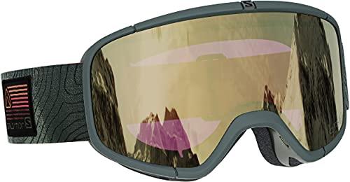 Salomon Goggles Four Seven Sigma Sonnenbrille, Erwachsene, Unisex, Olive Night (Grün), NS