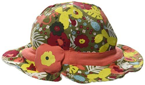 Tuc Tuc Bonnet en Jersey Fleurs Fille Orange Tropical Jungle